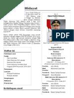 Djarot Saiful Hidayat - Wikipedia bahasa Indonesia, ensiklopedia bebas