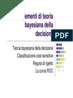 2 - Elementi di teoria della decisione