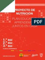 PROYECTO NUTRICION BGU
