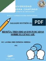 TRES IDEAS EQUIVOCADAS SOBRE EL LENGUAJE.pdf