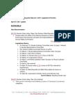 2011 Legislative Priorities