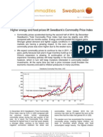 Energy & Commodities, January 2011