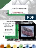 Presentación Brief Cliente- Julian Muñoz Garcia