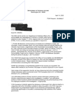 FOIA Documents OAWP and Government Accountability Project (2)
