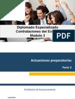 Diplomado Especializado en Contrataciones del Estado - Semana 3
