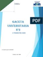 Gaceta Universitaria II Trimestre 2020.pdf
