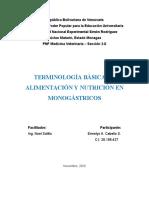 1era Asignación ERMELYS CABELLO ci.28.198.427  TERMINOLOGÍA BASICA DE ALIMENTACIÓN Y NUTRICIÓN EN  MONOGASTRICOS 1.docx
