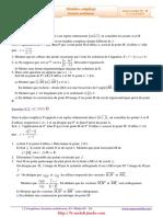 Serie d'exercices Corrigés - Math - Complexes - 4ème Math (2009-2010).pdf