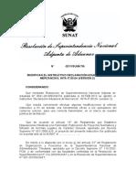 INSTRUCTIVO DECLARACIÓN ADUANERA DE MERCANCÍAS, INTA-IT.00.04 (VERSIÓN 2)