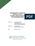 Recommendation Report DiMeglio
