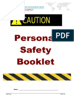 PUB-1-Personal Safety Booklet