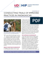 Conducting Trials of Improved Practices in Madagascar - 2007