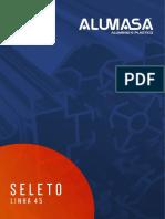 Perfils de Aluminio - Imitação Madeira
