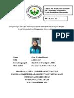 CJR STATISTIKA MATEMATIKA_NUR WASILAH HAWARI_4183111067_PSPM B 2018.docx
