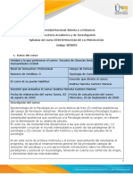 Syllabus del curso Epistemología de la Psicología