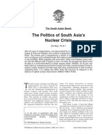 Readings 24 - Nuclear Politics in South Asia