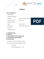 ESQUEMA DE CHARLA