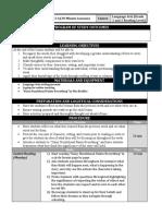 week 4 lower reading level lesson plan