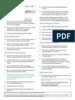 informative sheet