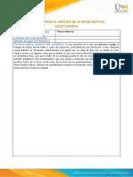 Formato para el análisis de la problemática. Tarea 3 ética