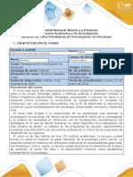 Syllabus del curso Paradigmas de Investigación en Psicología