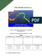 PLAN DE CONTINGENCIA labores de profundizacion marzo. 2017-063