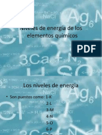 NIVELES DE ENERGIA 1RO