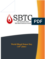 World Blood Donor Day 14june