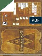 The Elder Scrolls III - Morrowind manual