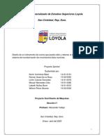 PROYECTO FINAL D.M RALLADORA Y CORTADORA DE QUESO