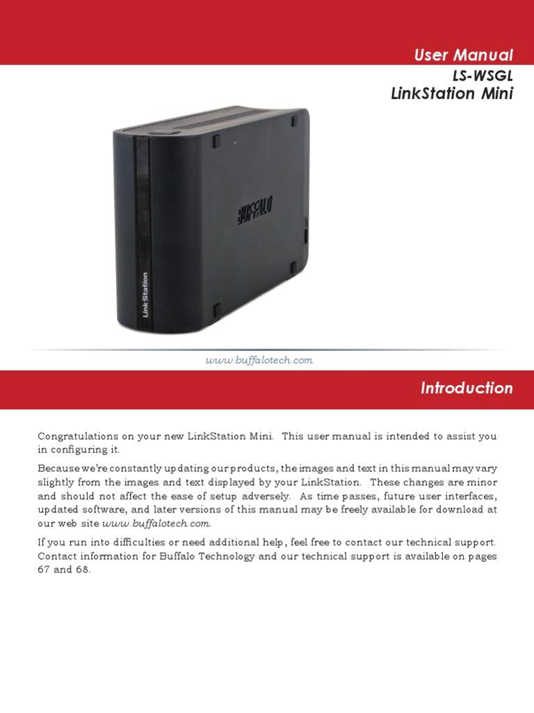 Buffalo Linkstation LS-WSGL-R1 | Active Directory | File