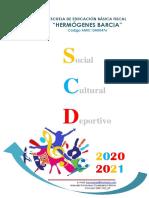 Plan Anual actividades Social 2020-2021