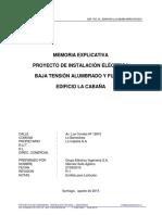 Memoria Explicativa Electricidad La Cabaña.pdf