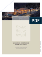 2nd Passive House Architecture Award