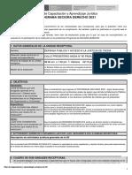 Plan de Capacitación y Aprendizaje Jurídico
