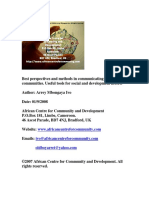 Best perspectives and methods in communicating with communities. Useful tools for social and dev.pdf
