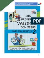 Guía Preescolar Nivel 2-Panamá