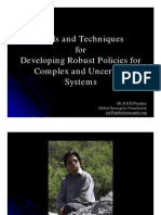 Policies for Uncertain Systems