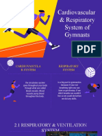 Group 2 Cardiovascular and Respiratory System of Gymnast