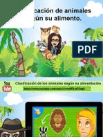clasificacion de animales segun su alimento.pptx