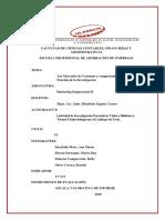 ACT N° 09 MARKETING. MERCADO DE CONSUMO Y FUNCIONES DE LA INVESTIGACIÓN