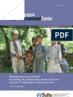 Winning Hearts and Minds? Examining the Relationship between Aid and Security in Afghanistan's Faryab Province