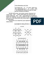 Trabalho Ap,´,M,´, Alfabeto maçônico