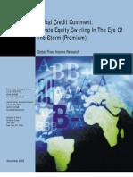 PE defaults-November2008