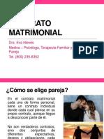 El Contrato Matrimonial