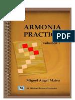 Armonia Practica (Mateu) Vol 1