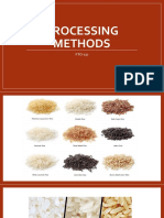 1d - Processing methods