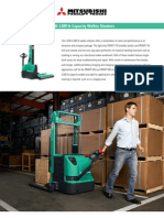 2200-3500 Lb Light and Heavy Duty Electric Walkie Stacker Brochure