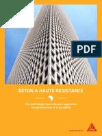 Concrete_FR_Guide solution_High strength Concrete
