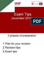 ACCA - Exam tips_Dec 2014